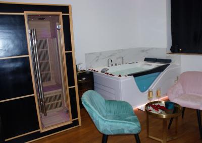 bien être appartement privatif spa sauna balnéo Dijon