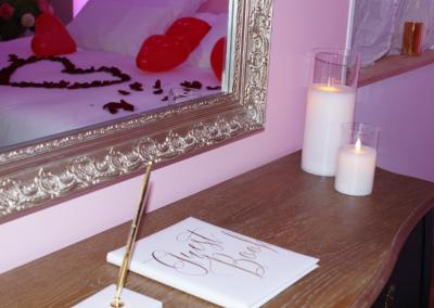 un livre d'or pour nos clients appartement privatif spa sauna balnéo Dijon