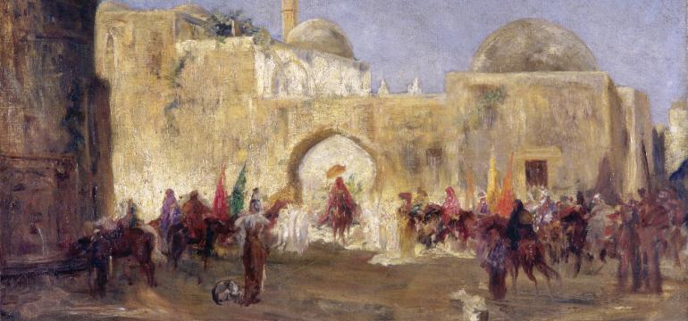 Exposition Le Grand Tour, voyage(s) d'artistes en Orient | Musée et Patrimoine Dijon